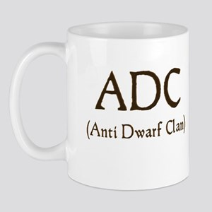 ADC (anti dawrf clan) Mug