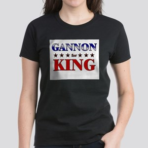 GANNON for king Women's Dark T-Shirt