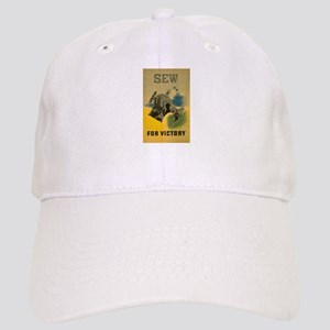 Sew For Victory - War Poster Cap