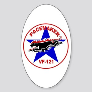 VF 121 Pacemaker Oval Sticker