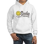 Smile if youre a Republican Hooded Sweatshirt