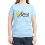 Smile if youre a Republican Women's Light T-Shirt