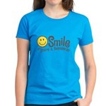 Smile if youre a Republican Women's Dark T-Shirt