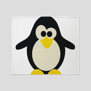 Pinguin Throw Blanket