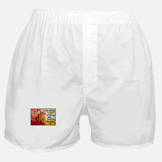 Knitting Fashion - Yarn Boxer Shorts