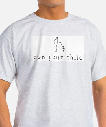 The Child Owner Ash Grey T-Shirt