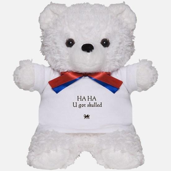 haha u ot skulled Teddy Bear