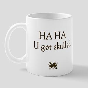 haha u ot skulled Mug