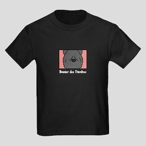 Anime Bouvier Kids Dark T-Shirt