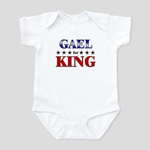 GAEL for king Infant Bodysuit