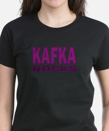 Kafka Rocks Women's Dark T-Shirt