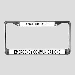 EM COMM License Plate Frame
