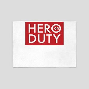 hero 5'x7'Area Rug