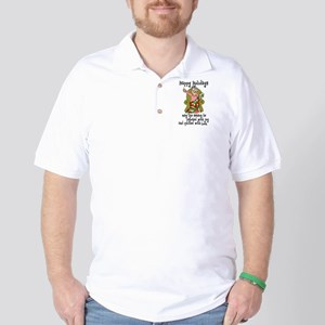Happy Holidays - Quilter Golf Shirt