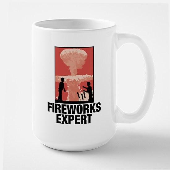 Mushroom Cloud Fireworks Expert Mugs