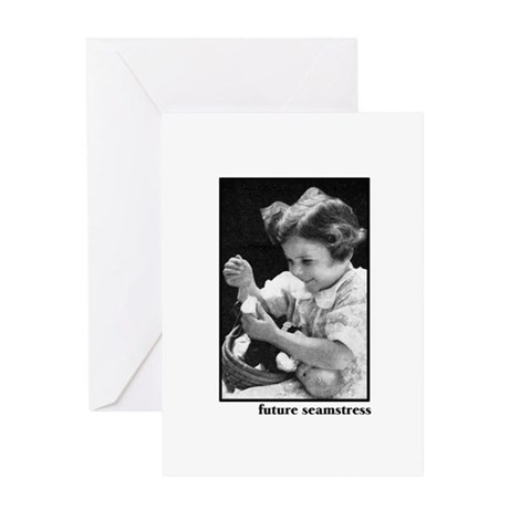 Future Seamstress Greeting Card