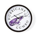 Hurricane Gumbo Wall Clock