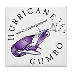 Hurricane Gumbo Tile Coaster