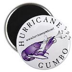 """Hurricane Gumbo 2.25"""" Magnet (10 pack)"""
