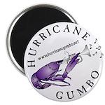 Hurricane Gumbo Magnet