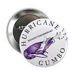 "Hurricane Gumbo 2.25"" Button (100 pack)"