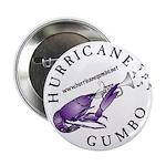 """Hurricane Gumbo 2.25"""" Button"""