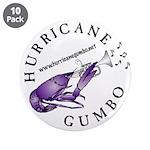 "Hurricane Gumbo 3.5"" Button (10 pack)"