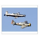 T-6 Texan Small Poster