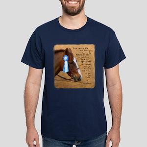 All For A Ribbon Horse Dark T-Shirt
