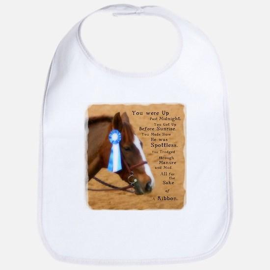 All For A Ribbon Horse Bib