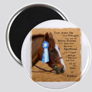 All For A Ribbon Horse Magnet