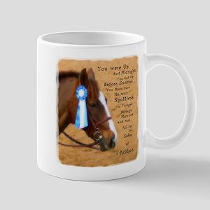 All For A Ribbon Horse Mug