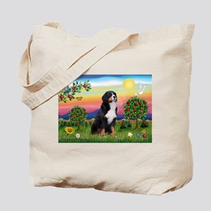 Bright Country & Bernese Tote Bag