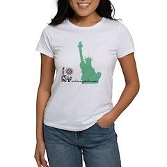 I liberty NY Women's T-Shirt