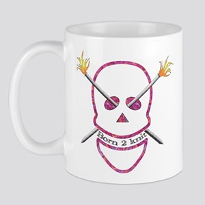 Born 2 knit Mug