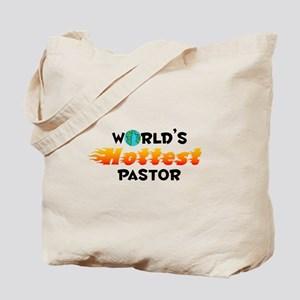 World's Hottest Pastor (C) Tote Bag