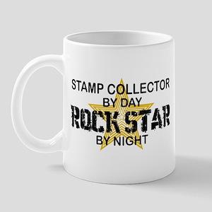 Stamp Collector RockStar Mug