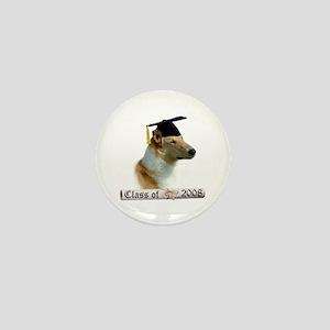 Collie Grad 08 Mini Button