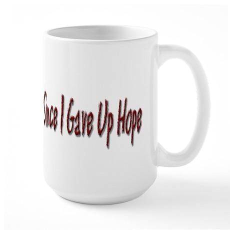 I Feel Much Better Large Coffee Mug