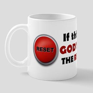 God's Reset Button Mug