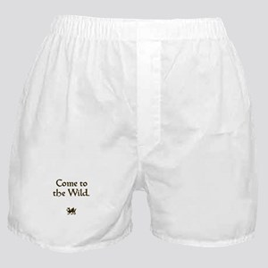 Come to the Wild Boxer Shorts
