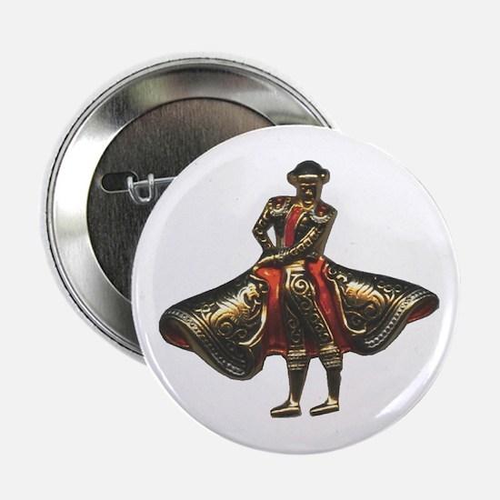 Red Matador Button