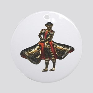 Red Matador Keepsake (Round)