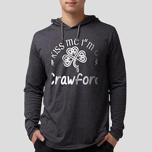 Kiss Me Im A Crawford Saint Pa Long Sleeve T-Shirt