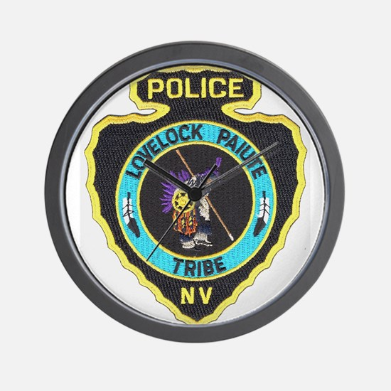 Lovelock Paiute PD Wall Clock