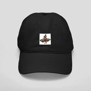 Red Matador Black Cap
