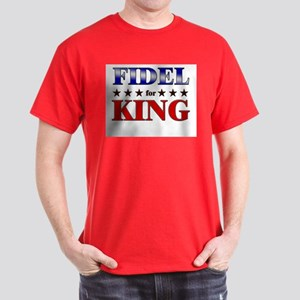 FIDEL for king Dark T-Shirt