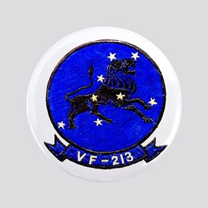 "VF 213 Black Lions 3.5"" Button"