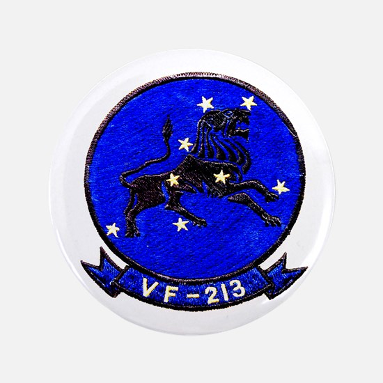 "VF 213 Black Lions 3.5"" Button"