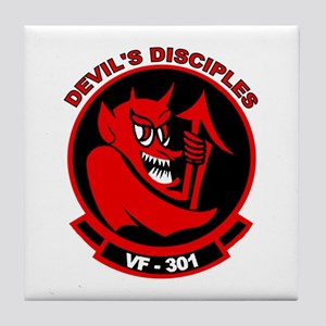 VF 301 Devil's Disciples Tile Coaster